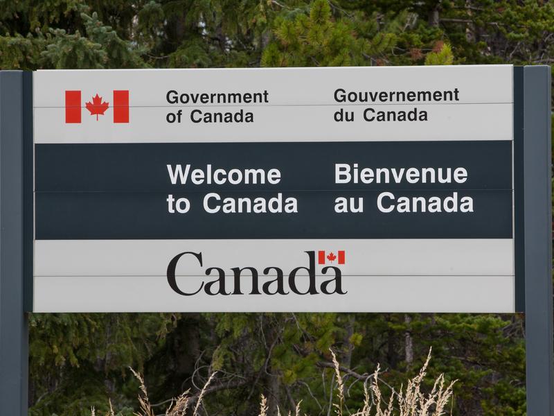 Poste de frontière canadienne