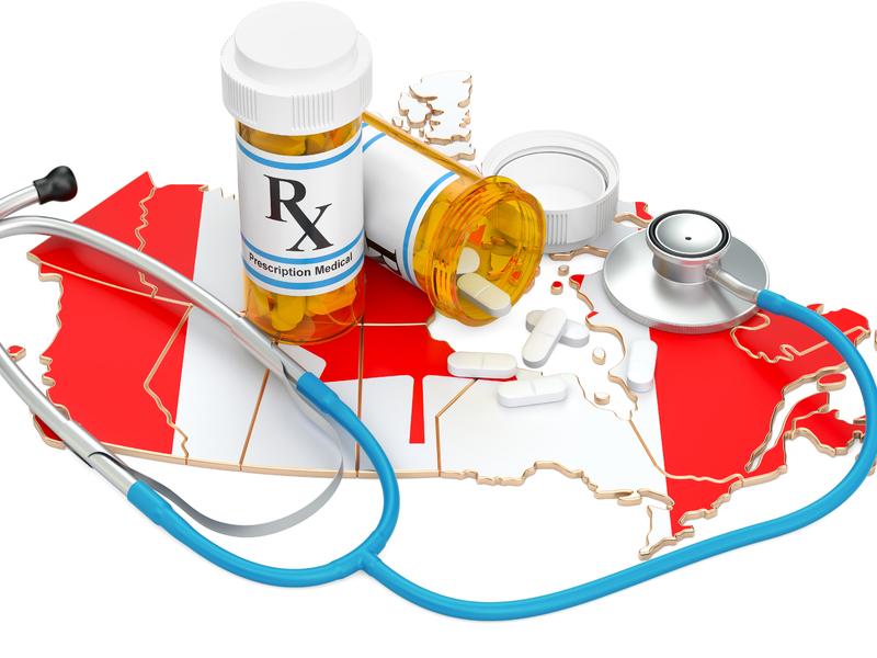 Canada avec des médicaments