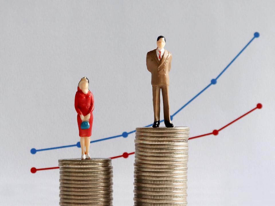 Les hommes gagnent plus que les femmes